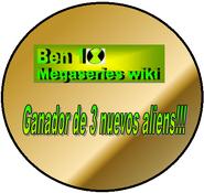 Medalla 3 Aliens Nuevos Megaseries by Methanosian