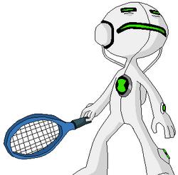 Eco Eco jugando Tenis