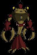 Kangrejo Kraken de Kirby