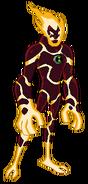 Flama del Omnitrix de Prueba (D10)