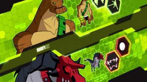 Gigantozaur Ben 10 Omniverse Cartoon Network