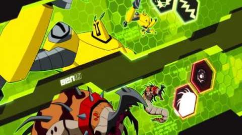 Armowiertło Ben 10 Omniverse Cartoon Network
