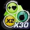 Zombozo Big Score badge 5.png