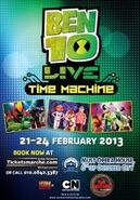 2013198271Cartoon Network's BEN 10 LIVE Time Machine