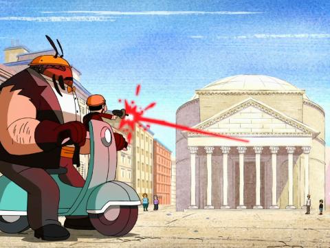 Ben Em Roma, Parte 1