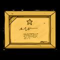 Award decal