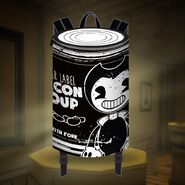 Bacon-soup-can-backpack-white