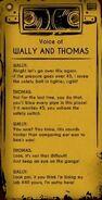 Thomas and wally