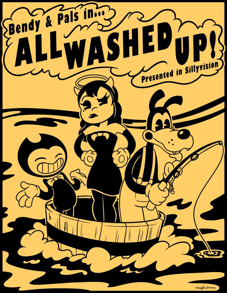 All Washed Up (Cartoon)