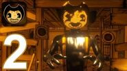 Bendy and the Ink Machine Mobile - Gameplay Walkthrough Part 2 - Chapter 2 (iOS, Android)