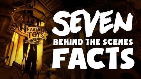 """7 BEHIND THE SCENES FACTS about """"Bendy Chapter Three""""!"""