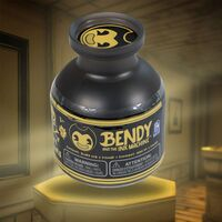 Bendy slime container