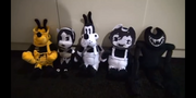 Brute Boris, Allison Angel, Tom, Sammy, and Beast Bendy plush revealed at E3 2019