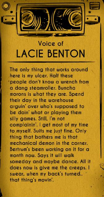 Lacie Benton