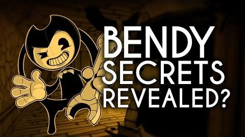 """""""Bendy and the Ink Machine"""" Secrets Revealed? - Send questions!"""