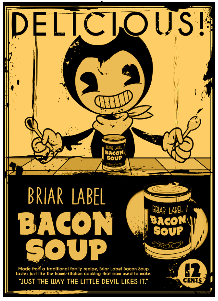 Bacon Soup Ad