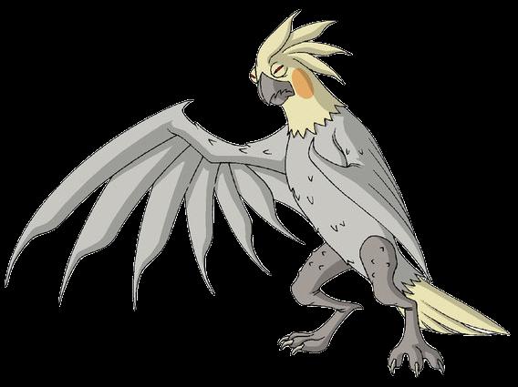 Попугай-мутант
