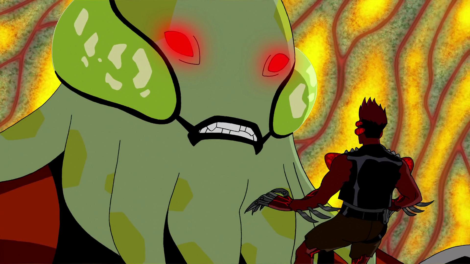 Девица-робот против супергероя