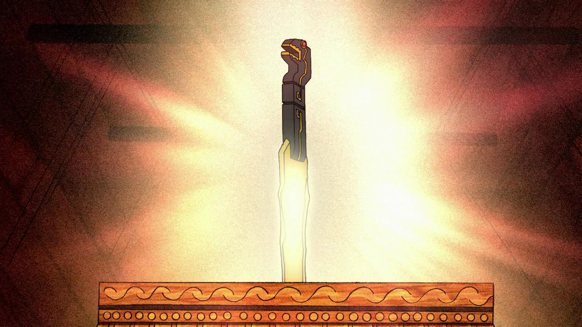 Священный меч племени Майя-За