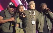 Black Eyed Peas performing at O2 Apollo Manchester Nov2018