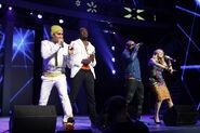 Black Eyed Peas at Walmart meeting