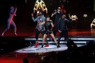 Black Eyed Peas Performing at END