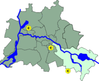 Lage Treptow-Köpenick