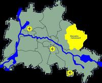 Lage Marzahn-Hellersdorf