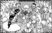 Banda feliz por retorno de Griffith