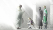 Mozgus prays with Farnese