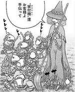 Manga E346 Danan helps brownies clean