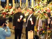 Miura with Inoue 2002