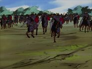 Black Ram Iron Lance Knights charge (1997 anime)