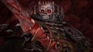Musou Skull Knight Wielding Sword of Beherits