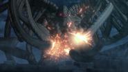 Mozgus using God's Thousand Punch