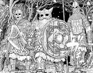Manga E359 Skellig golems