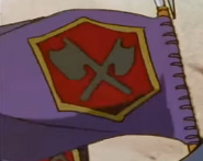 Emblema de los Caballeros del Rinoceronte Púrpura (anime 1997)