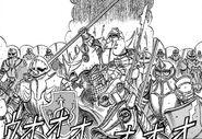 Manga E25 Holy Purple Rhino Knights
