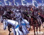 Banda del Halcón (ilustración PS2)