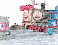 Thomas meets theodore tugboat by trainsandcartoons dc5tpf0