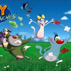 Oggy and the Cockroaches (Seasons 1-3, 7-Present)