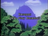 Let's Play Baseball (Keroppi and Friends)