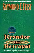 Feist - Krondor - The Betrayal Coverart