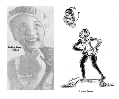 The real Baby Esther Jones in 1929 from Betty Boop Lover Tumblr - she was like a mini Josephine Baker in France.png