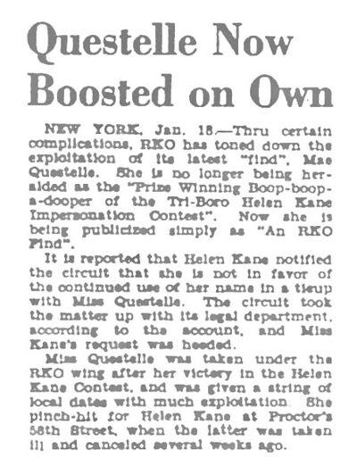 Helen Kane Is Upset With Mae Questel Using Boop Title In 1930.jpg