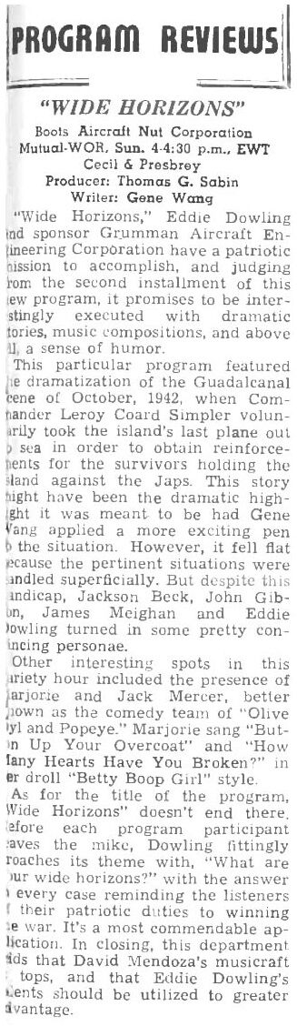Jack Mercer Popeye and Margie Hines Betty Boop 1944.jpg