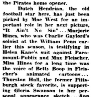 25th April 1934 Margie Hines Testifying Against Helen Kane.jpg