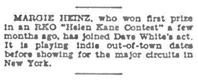 August 9th 1930 Margie Hines RKO Winner.jpg