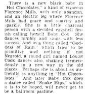 Baby Cox the Next Florence Mills 1929 aka Gertrude Cox