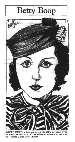 Bonnie Poe voice of Betty Boop NBC Radio 1933.png